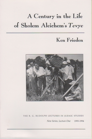Cover for the book: Century in the Life of Sholem Aleichem's Tevye, A