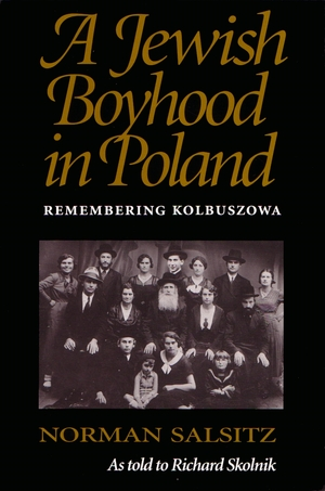 Cover for the book: Jewish Boyhood in Poland, A