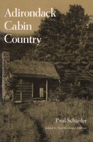 Cover for the book: Adirondack Cabin Country