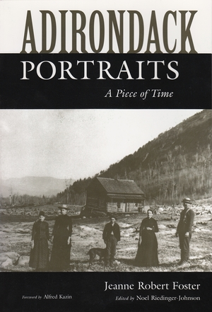 Cover for the book: Adirondack Portraits