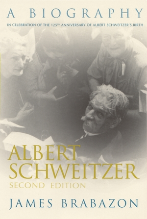 Cover for the book: Albert Schweitzer
