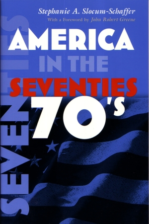 Cover for the book: America in the Seventies