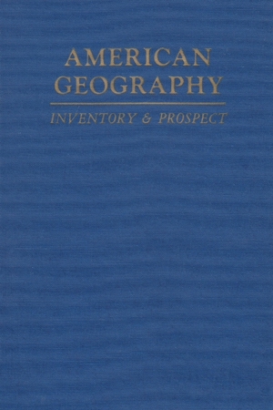 Cover for the book: American Geography