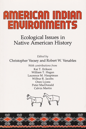 Cover for the book: American Indian Environments