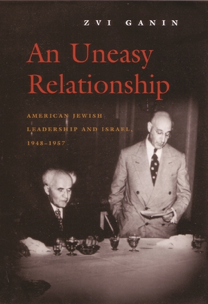 Cover for the book: Uneasy Relationship, An