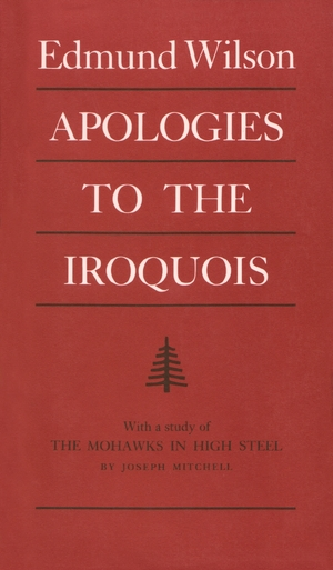Cover for the book: Apologies to the Iroquois