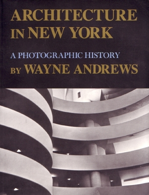 Cover for the book: Architecture in New York
