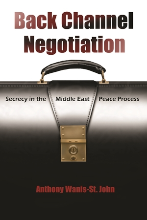 Cover for the book: Back Channel Negotiation