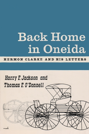 Cover for the book: Back Home in Oneida