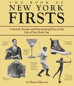 Cover for the book: Book of New York Firsts, The