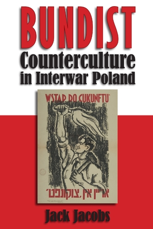 Cover for the book: Bundist Counterculture Interwar Poland