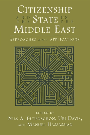 Cover for the book: Citizenship and the State in the Middle East