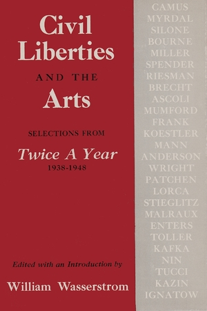 Cover for the book: Civil Liberties and Arts