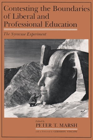 Cover for the book: Contesting the Boundaries of Liberal and Professional Education