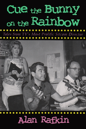Cover for the book: Cue the Bunny on the Rainbow