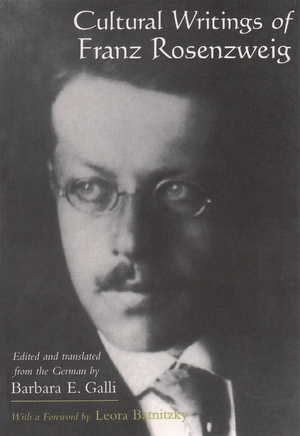 Cover for the book: Cultural Writings of Franz Rosenzweig