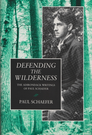 Cover for the book: Defending the Wilderness