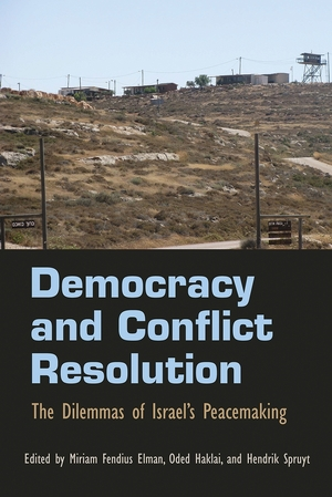 Cover for the book: Democracy and Conflict Resolution