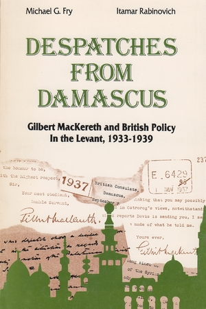 Cover for the book: Despatches From Damascus