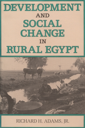 Cover for the book: Development and Social Change in Rural Egypt