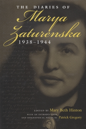 Cover for the book: Diaries of Marya Zaturenska, 1938-1944, The