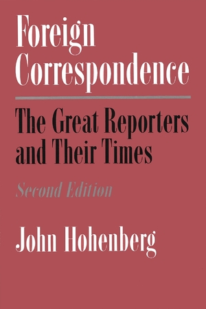 Cover for the book: Foreign Correspondence