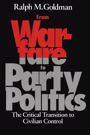 Cover for the book: From Warfare to Party Politics