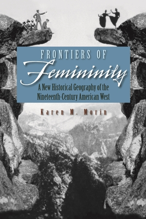 Cover for the book: Frontiers of Femininity
