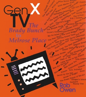 Cover for the book: Gen X TV