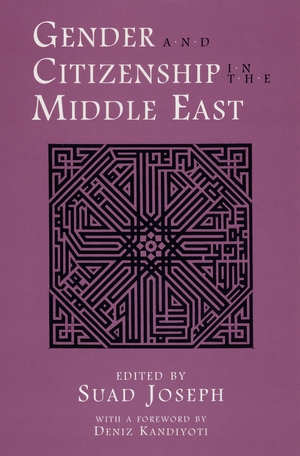 Cover for the book: Gender and Citizenship in the Middle East