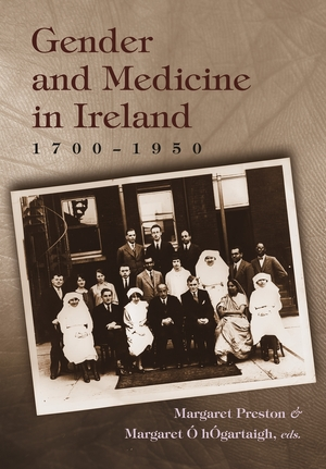 Cover for the book: Gender and Medicine in Ireland