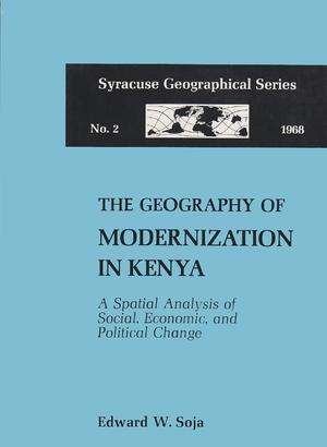 Cover for the book: Geography of Modernization in Kenya, The