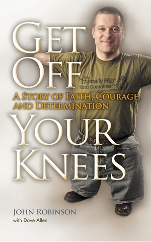 Cover for the book: Get Off Your Knees
