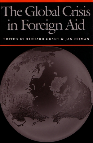 Cover for the book: Global Crisis in Foreign Aid, The
