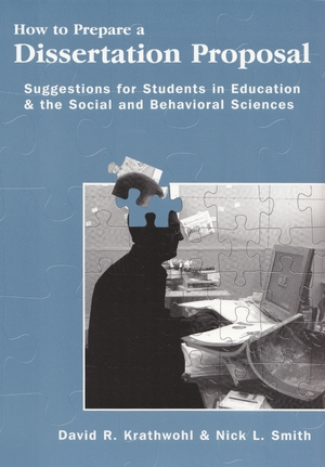 Cover for the book: How to Prepare a Dissertation Proposal