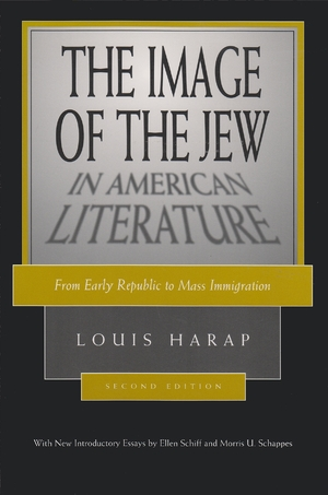 Cover for the book: Image of the Jew in American Literature, The