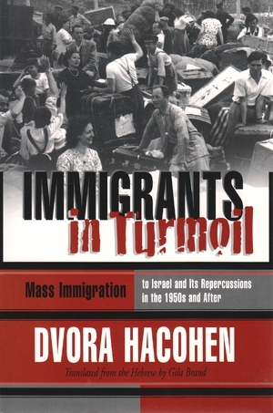 Cover for the book: Immigrants in Turmoil