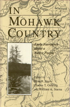 Cover for the book: In Mohawk Country