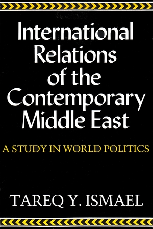 Cover for the book: International Relations of Contemporary Middle East