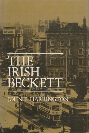 Cover for the book: Irish Beckett, The