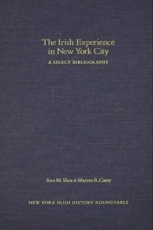 Cover for the book: Irish Experience in New York City, The