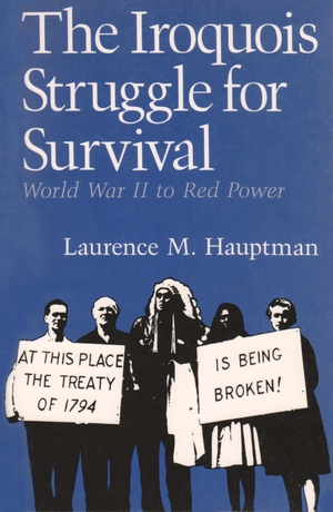 Cover for the book: Iroquois Struggle for Survival, The
