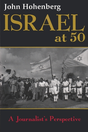 Cover for the book: Israel at 50