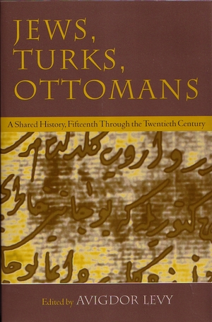 Cover for the book: Jews, Turks, and Ottomans