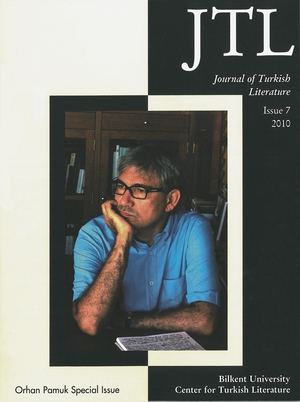 Cover for the book: Journal of Turkish Literature