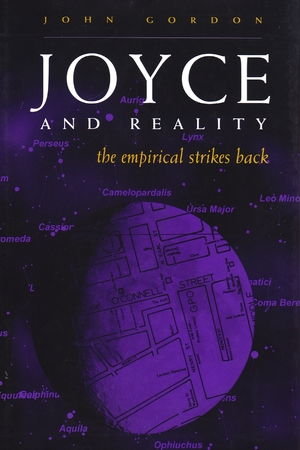 Cover for the book: Joyce and Reality