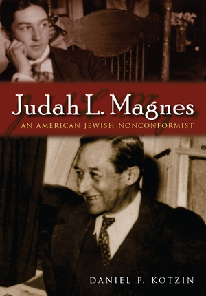 Cover for the book: Judah L. Magnes