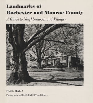Cover for the book: Landmarks of Rochester and Monroe County
