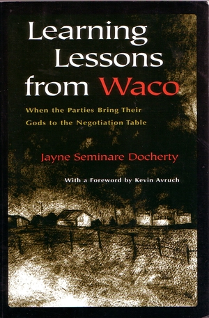 Cover for the book: Learning Lessons From Waco