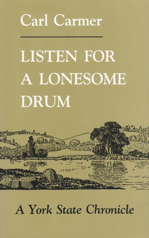 Cover for the book: Listen for a Lonesome Drum